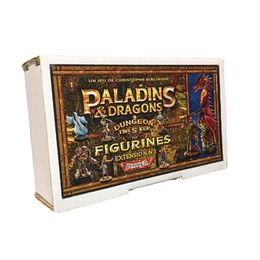 Dungeon Twister: Paladins & Dragons figures 1  Yel