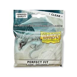 Dragon Shield Perfect Fit Clear Sideloaders 100kpl