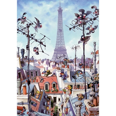 Loup - Eiffel Tower 29358
