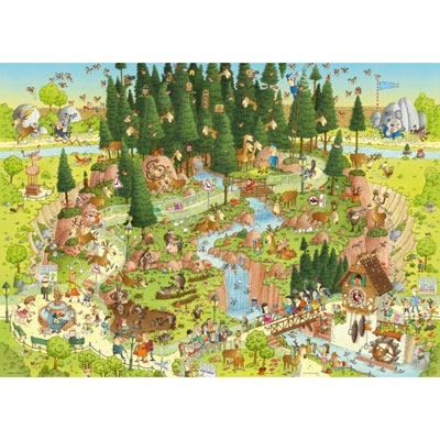 Funky Zoo - Black Forest Habitat 29638