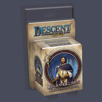 Descent: Rylan Olliven Lieutenant Pack (ENG)