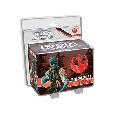 Star Wars - Imperial Assault Rebel Saboteurs (ENG)
