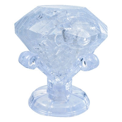 3D Crystal puzzle: Diamond