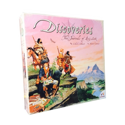 Discoveries - Journals of Lewis & Clark (ENG)