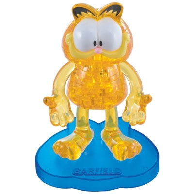 3D Crystal puzzle: Garfield