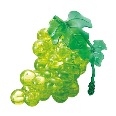 3D Crystal puzzle: Grapes (green)