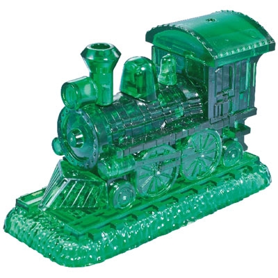 3D Crystal puzzle: Train (green)