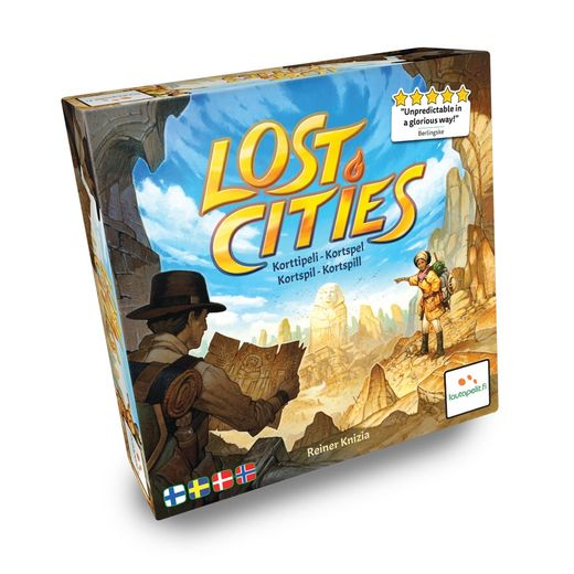 Lost Cities Korttipeli