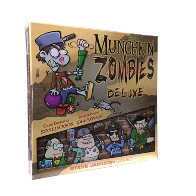 Munchkin Zombies Deluxe Edition (ENG)