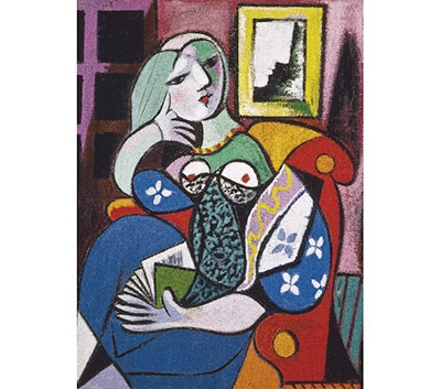 Picasso - Woman with Book 534140