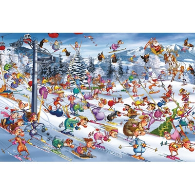Francois Ruyer - Christmas Skiing 535147