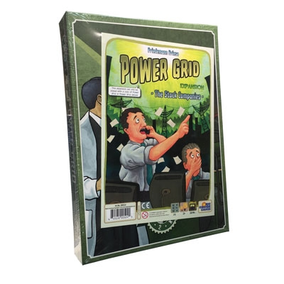 Power Grid: Stock Companies exp. (ENG)