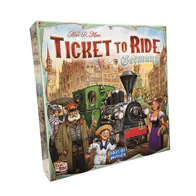 Ticket to Ride Germany (ENG)