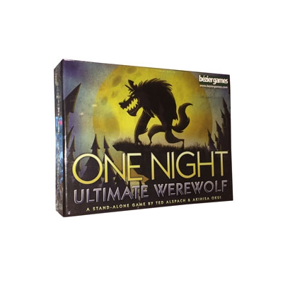 Ultimate Werewolf, One Night Edition (ENG)