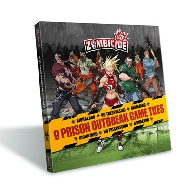 Zombicide: Prison Outbreak Game Tiles (ENG)