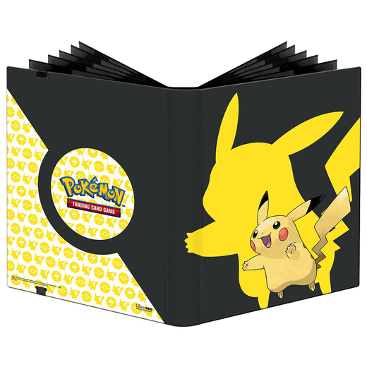 Pokemon 9-pocket Pikachu PRO portfolio