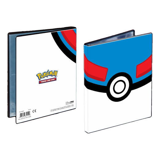 Pokemon 4-pocket Great Ball portfolio