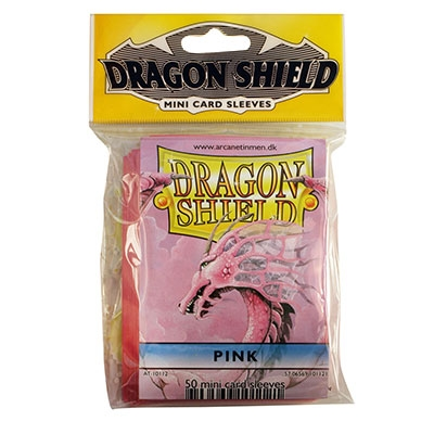 Mini Dragon Shield Pink
