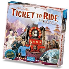 Ticket to Ride: Asia (lisäosa)