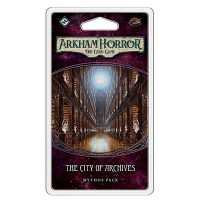 Arkham Horror LCG: City of Archives (ENG) exp.