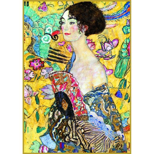 Klimt - Lady with a Fan 552748