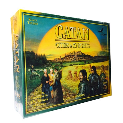 Catan: Cities and Knights (ENG) exp.