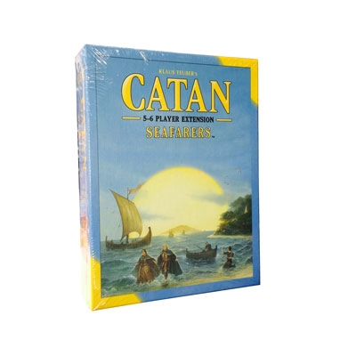 Catan: Seafarers 5-6 player expansion (ENG)