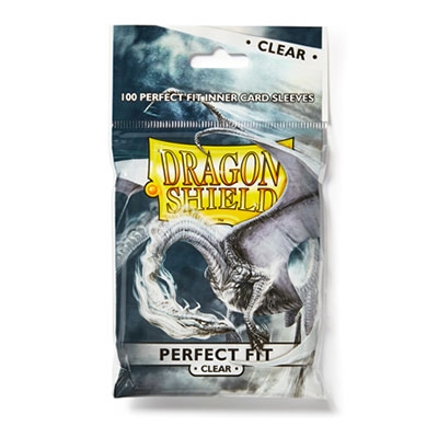 Dragon Shield Perfect Fit Clear 100kpl