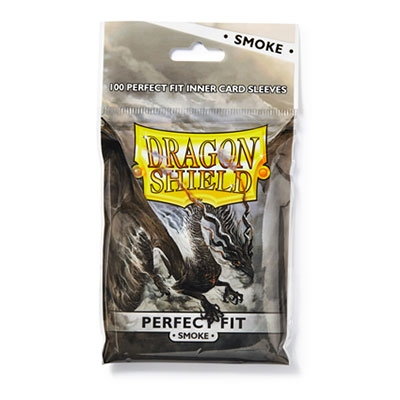 Dragon Shield Perfect Fit Smoke 100kpl