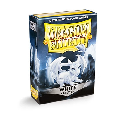 Dragon Shield Matte White 60kpl