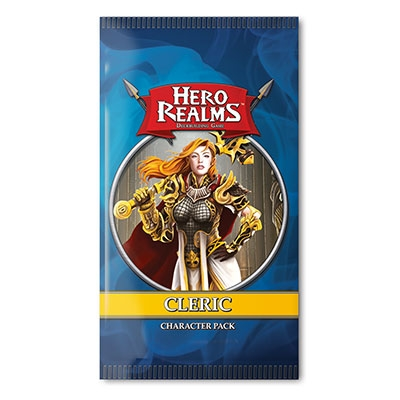 Hero Realms: Cleric character pack (ENG)