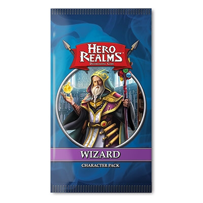 Hero Realms: Wizard character pack exp. (ENG)