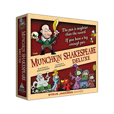 Munchkin Shakespeare Deluxe Edition (ENG)
