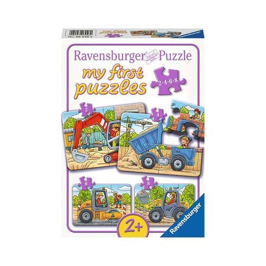 My First Puzzles - Construction Vehicles
