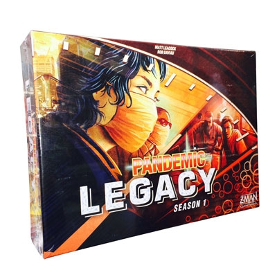 Pandemic Legacy Season 1: Red (ENG)