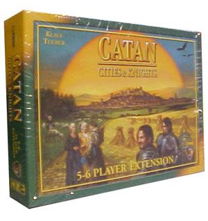 Catan: Cities and Knights 5-6 player exp. ENG)