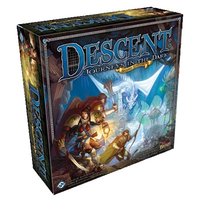 Descent: Journeys in the Dark 2nd edition (ENG)