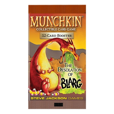 Munchkin CCG: Desolation of Blarg booster (ENG)