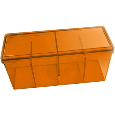 Dragon Shield - 4 Storage box: Orange