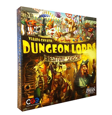 Dungeon Lords: Festival Season exp. (ENG)