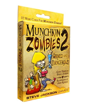 Munchkin Zombies 2: Armed and Dangerous exp (ENG)