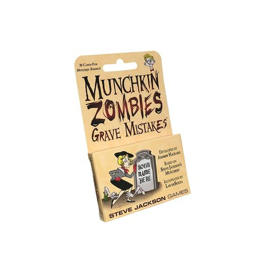 Munchkin Zombies: Grave Mistakes (ENG)