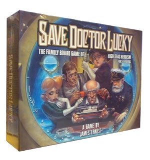 Save Doctor Lucky boardgame (ENG)