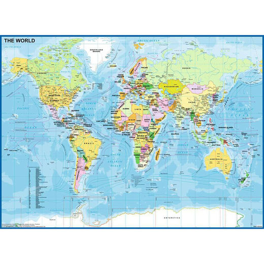 Map of the World 128907